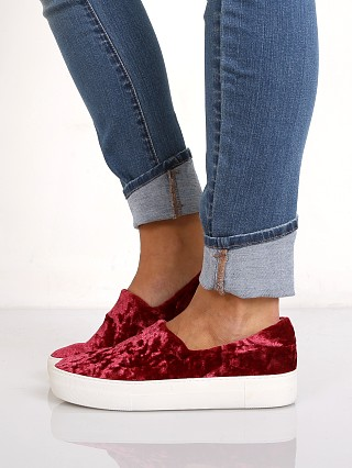 J/Slides Angel Sneaker Burgundy