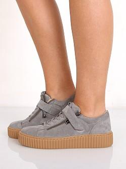 J/Slides Papper Platform Zip Sneaker
