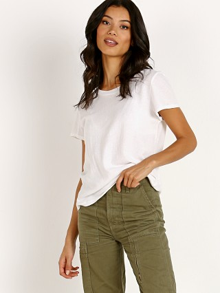 Complete the look: LACAUSA Frank Tee Whitewash