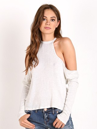Joah Brown Peekaboo Long Sleeve Chalk