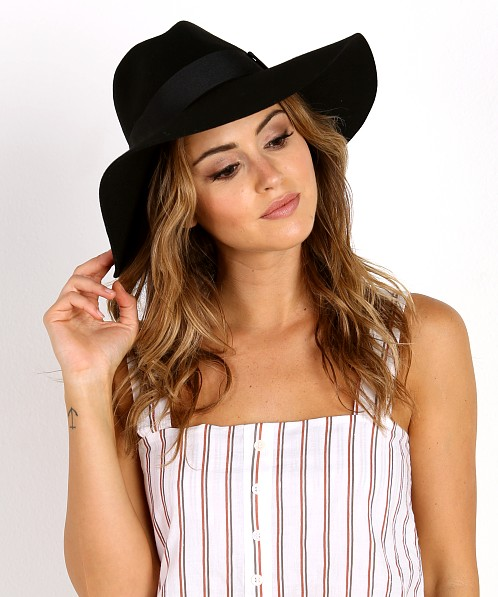44953dbf20 Brixton Piper Hat Black