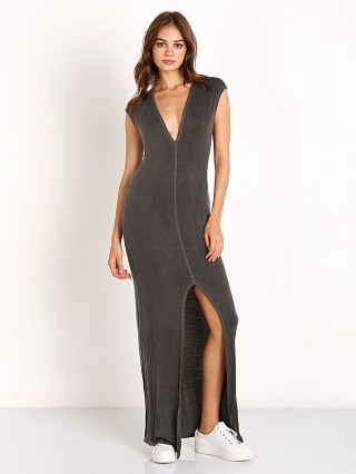 Nytt V-neck Maxi with Front Slit