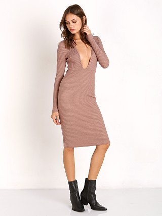 Nytt Long Sleeve Dress with V Front