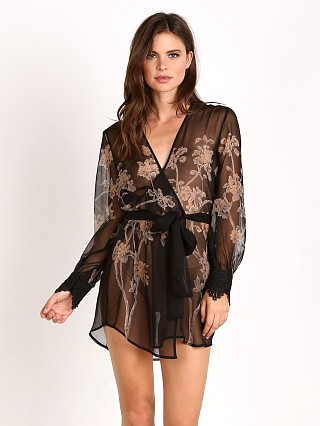 Stone Cold Fox Kiku Robe