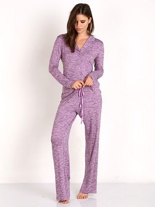 Splendid Long PJ Set Lavender Plum
