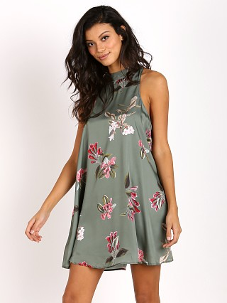 Show Me Your Mumu V-Right Back Mini Dress Laura Flora