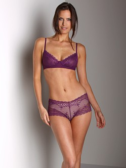 Cosabella Shelly Wireless Bra Plum