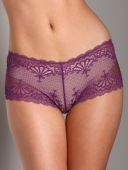 Cosabella Shelly Low Rise Hotpants Plum