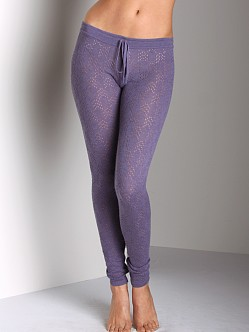 Eberjey Tight Knit Legging Wild Plum