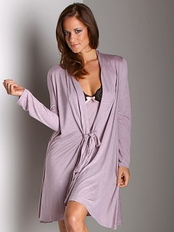 Eberjey Anouk Waterful Robe Mauve