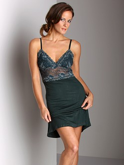 Wendy Glez Triangle Short Aphrodite Chemise Dark Teal