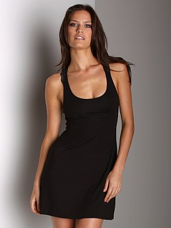 Cosabella Thea Chemise Dress Black