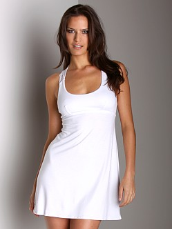 Cosabella Thea Chemise Dress White