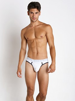 John Sievers Cotton Natural Pouch Brief White