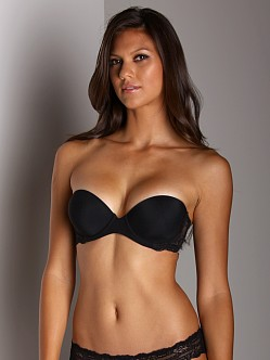 Calvin Klein Perfecty Fit Strapless Bra With Lace