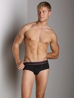 SPANX Cotton Comfort Brief Black