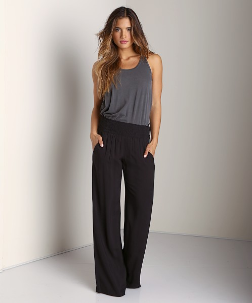 Splendid Pull On Pant Black