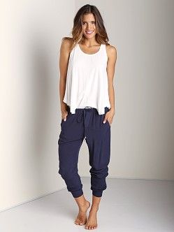 Splendid Athletic Woven Pants Navy